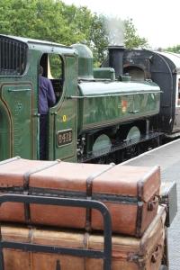 South Devon Railway Totnes Littlehempston July 2015 64xx 6412 (9)