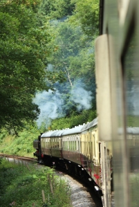South Devon Railway Dart Valley July 2015 - 57xx class Pannier Tank London Transport L.92