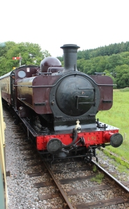 South Devon Railway Staverton July 2015 - 57xx class Pannier Tank London Transport L.92