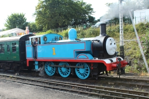 Watercress Line 1 Thomas the Tank Engine Ropley 7th August 2015