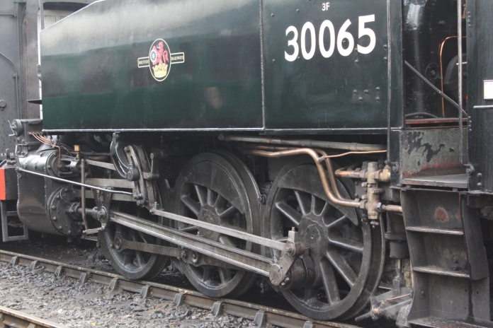 Kent and East Sussex Railway Tenterden August 2015 (04) BR SR USA Dock Tank 30065
