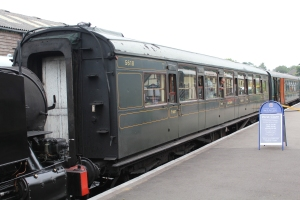 Kent and East Sussex Railway Tenterden August 2015 (08) Southern Railway Maunsell 5618 CK Restriction 1