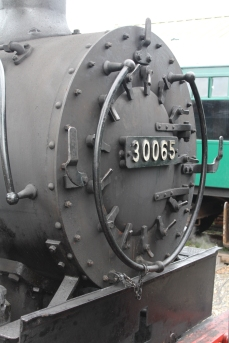 Kent and East Sussex Railway Tenterden August 2015 (10) BR SR USA Dock Tank 30065