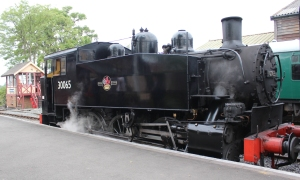 Kent and East Sussex Railway Tenterden August 2015 (16) BR SR USA Dock Tank 30065