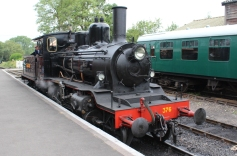 Kent and East Sussex Railway Tenterden August 2015 (53) 2-6-0 mogul 21C class Norwegian State Railways (Norwegian Norges Statsbaner AS) 376 (19) Norwegian