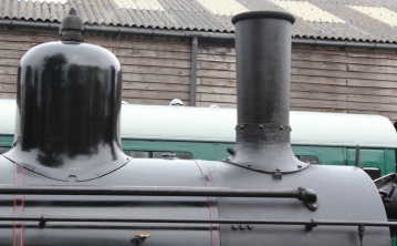 Kent and East Sussex Railway Tenterden August 2015 (72) 2-6-0 mogul 21C class Norwegian State Railways (Norwegian Norges Statsbaner AS) 376 (19) Norwegian