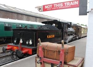 Kent and East Sussex Railway Tenterden August 2015 (76) 2-6-0 mogul 21C class Norwegian State Railways (Norwegian Norges Statsbaner AS) 376 (19) Norwegian