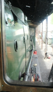 South Devon Railway Buckfastleigh July 2015 GWR BR 2251 Collett Goods class 3205 cab footplate (4)