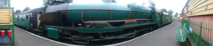 301 - Watercress Line Ropley Southern Railway 850 Lord Nelson - 2nd September 2015