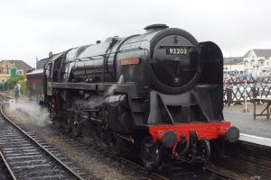 BR Standard 9F 92203 Black Prince