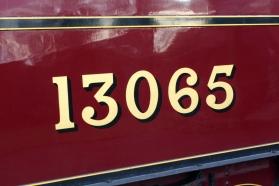 Watercress Line Autumn Steam Gala 24 October 2015 - LMS Hughes Crab 13065