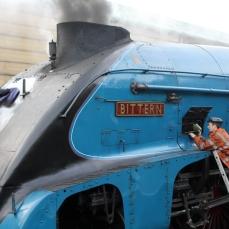 Watercress Line Autumn Steam Gala 24 October 2015 -LNER A4 class 4464 Bittern