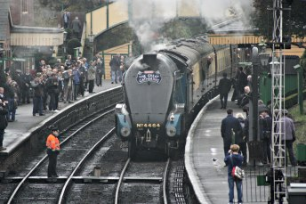 2015 - Bittern - A4 - Mid Hants Railway - Ropley
