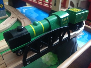 Bigjigs - Sir Archibald Sinclair - 34059 - Wooden Train (1)