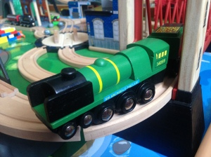 Bigjigs - Sir Archibald Sinclair - 34059 - Wooden Train (2)