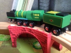 Bigjigs - Sir Archibald Sinclair - 34059 - Wooden Train (4)