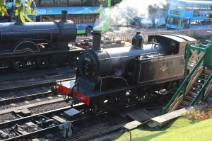 Swanage Railway September 2015 (05) Ex-LSWR M7 class 30053 and T9 class 30120