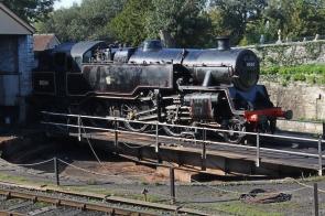Swanage Railway September 2015 (08) BR Standard 4MT 2-6-4T 80104