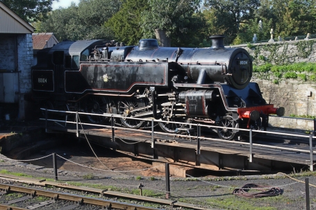 Swanage Railway September 2015 (08) BR Standard 4MT 2-6-4T 80104