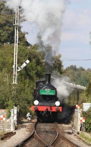 Swanage Railway September 2015 (17) Corfe Castle Ex-LSWR M7 class 30053 The Dorset Man