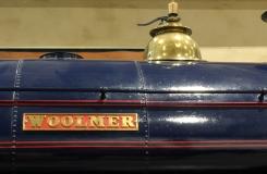 Milestones Museum 0-6-0 Avonside engine company saddle tank 1572 Wolmer 8th November 2015