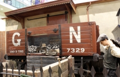 Milestones Museum GN wagon 8th November 2015