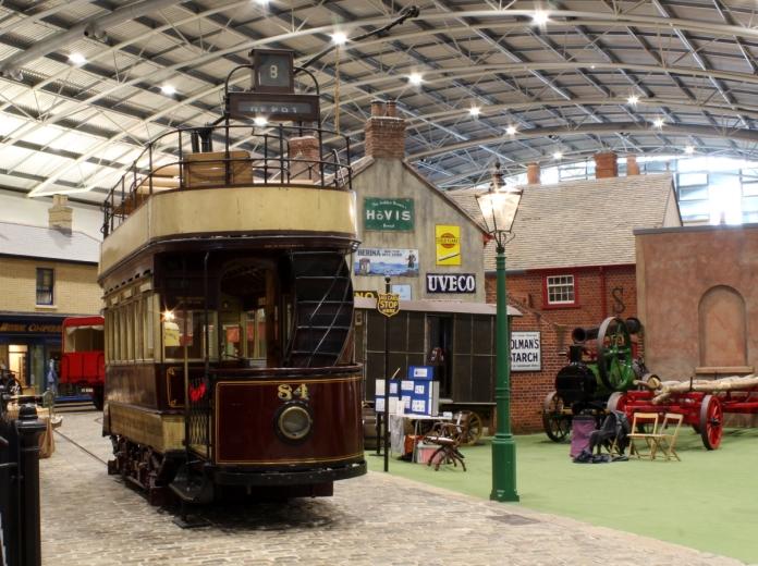 Milestones Museum tram 8th November 2015