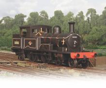 Oxford Rail Adams Radial Tank