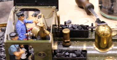 The Woodpecker Railway - Live Steam 16mm to 1 foot () gauge track - Dickon Armstrong November 2015 Milestones Museum