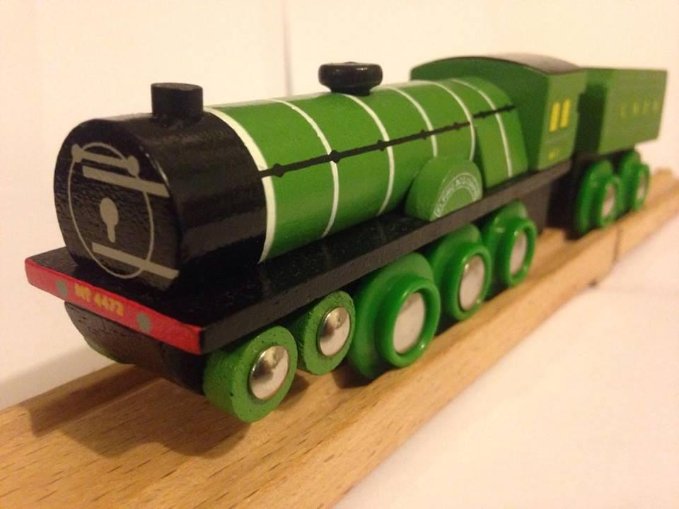Lionel Ho Scale Trains Brio Wooden Flying Scotsman Train Set