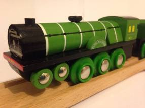 Flying Scotsman - Bigjigs Heritage Collection - Wooden train (3)