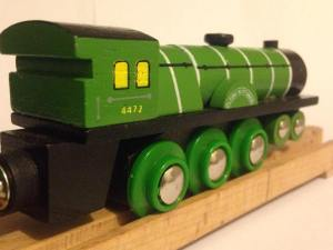 Flying Scotsman - Bigjigs Heritage Collection - Wooden train (5)
