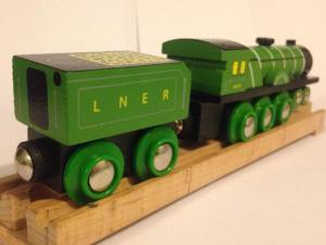 Flying Scotsman - Bigjigs Heritage Collection - Wooden train (6)