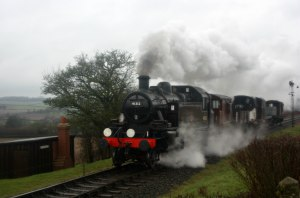 Watercress Line Spring Steam Gala 2016 - Ropley (9)