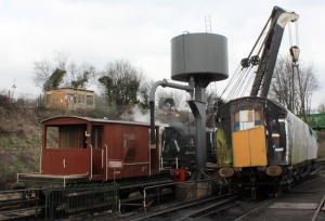 Bulleid 4367 Bogey lift