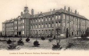 CP OU 001 LSWR Railway Servants Orphanage