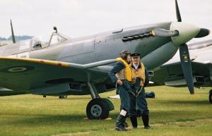 Duxford 2004 (1) Spitfire
