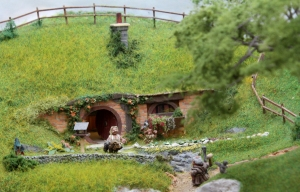 Hobbiton End Model Railway (03) JRR Tolkien Lord of the Rings and the Hobbit