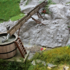Hobbiton End Model Railway (04) JRR Tolkien Lord of the Rings and the Hobbit