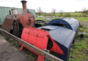 Kent and East Sussex Railway Rolvenden tour 2016 (06) No. 11 SE&CR P Class 753 boiler