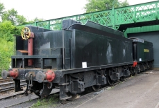Urie Society S15 class new tender top on frames 3208 for 30506 next to old tender to be replaced for 30499