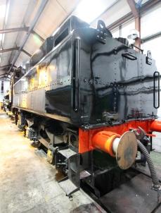 Watercress Line Ropley BR Standard 4MT 2-6-0 76017 overhaul - 19th July 2016 (1)