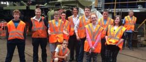 CP OU 014 Osborne School Eastleigh tour