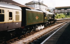 Paignton and Dartmouth Railway 1990s (5) Churston Ex-LNER A3 60103 Flying Scotsman