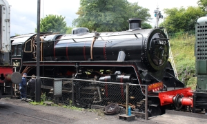 Ropley Watercress Line July 28th 2016 (01) BR Standard 4MT 2-6-0 76017