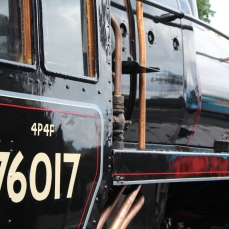 Ropley Watercress Line July 28th 2016 (05) BR Standard 4MT 2-6-0 76017