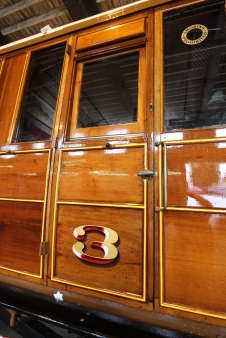 Severn Valley Railway July 2016 Kidderminster Carriage Shop (06) LNER Brake Pigeon Van 70759 converted to brake 3rd corridor 24506