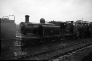 SR LBSC E4 NO.32503 0-6-0T BILLINGTON BLACK WHITE NEGATIVE STEAM RAILWAY sold by jsbd5910 - Copy