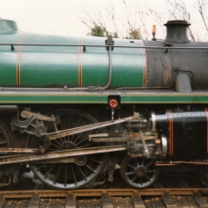 Watercress Line Mid Hants Railway 1990s (2) Ropley BR Standard 5MT 73096