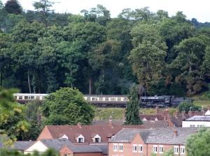 Severn Valley Railway Bewdley July 2016 Ivatt 4MT 2-6-0 43106 mucky duck (01)